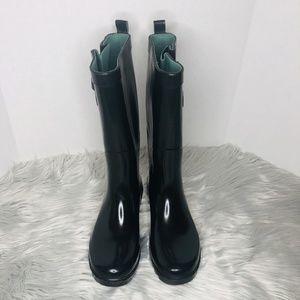 Clarks Tall Black Rain Boots Size 7